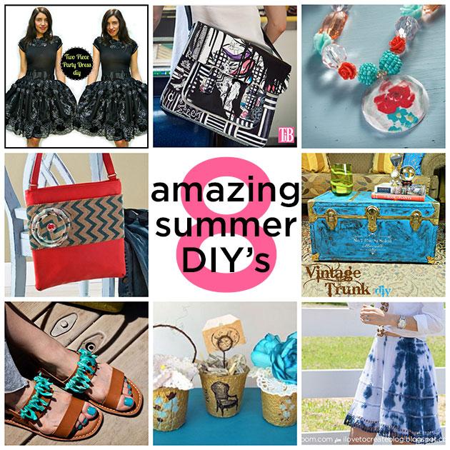 8 Amazing Summer DIY's