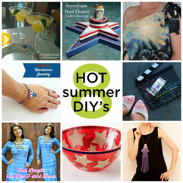 8 Hot Summer DIY's