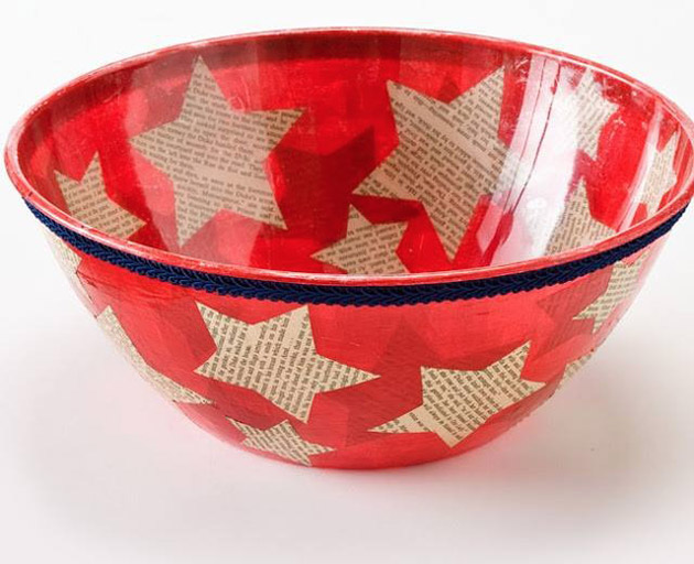 Chip Bowl for the 4th of July