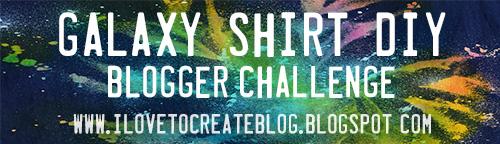 Galaxy Shirt DIY Blogger Challenge