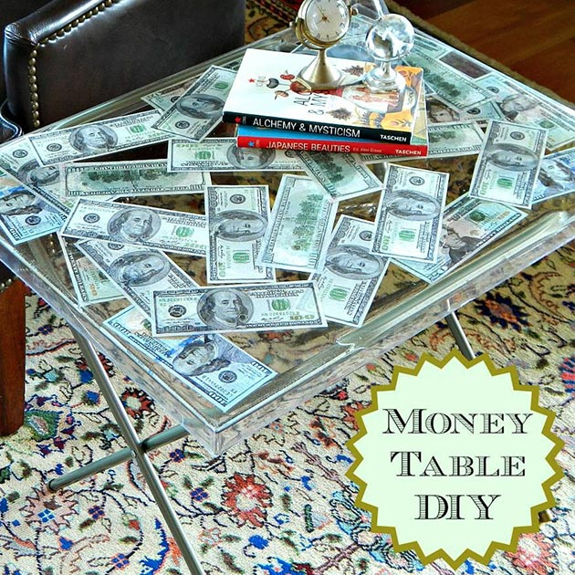 Money Table DIY