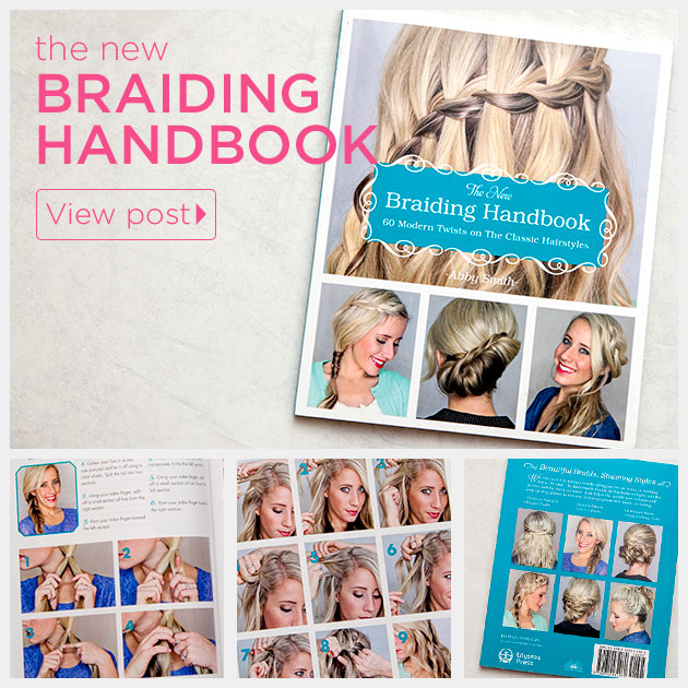 The New Braiding Handbook Book Review by Trinkets in Bloom