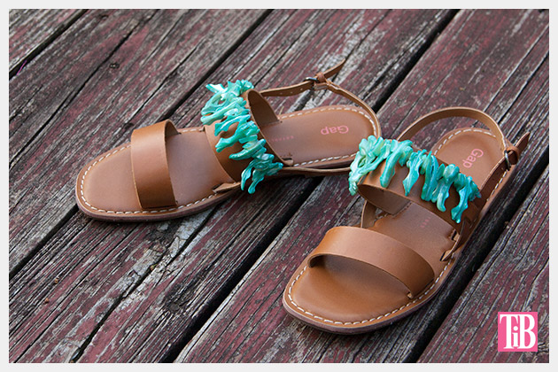 Embellished Sandals DIY Photo 2