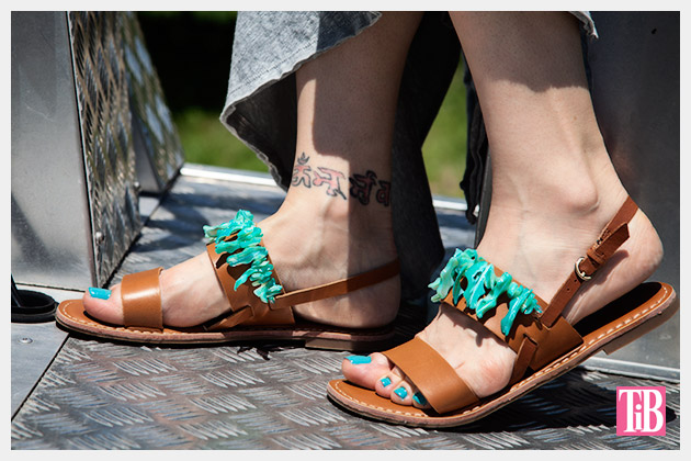 Embellished Sandals DIY Photo 3