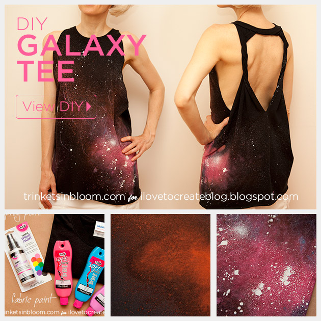 Galaxy Shirt Beach Cover Up by Trinkets in Bloom