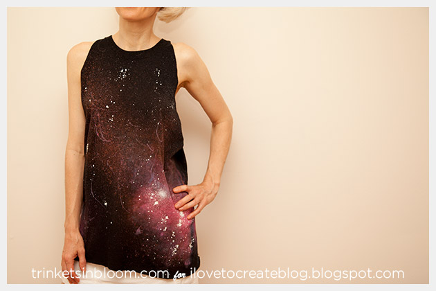 Galaxy Shirt Beach Cover Up Front