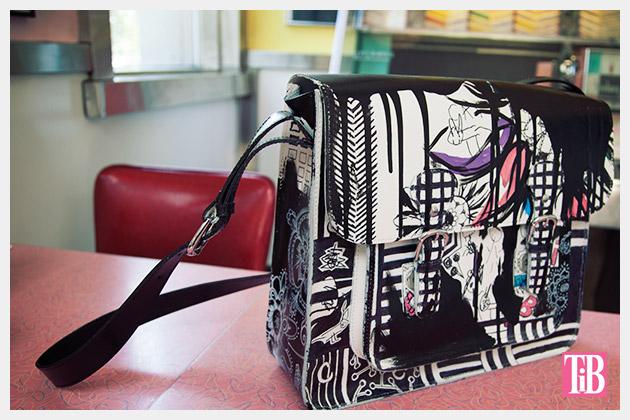 Graffiti Bag Finished Photo