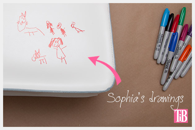 Graffiti Bag Kids Drawings
