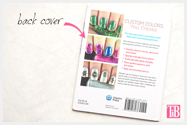 Homemade Nail Polish book back cover