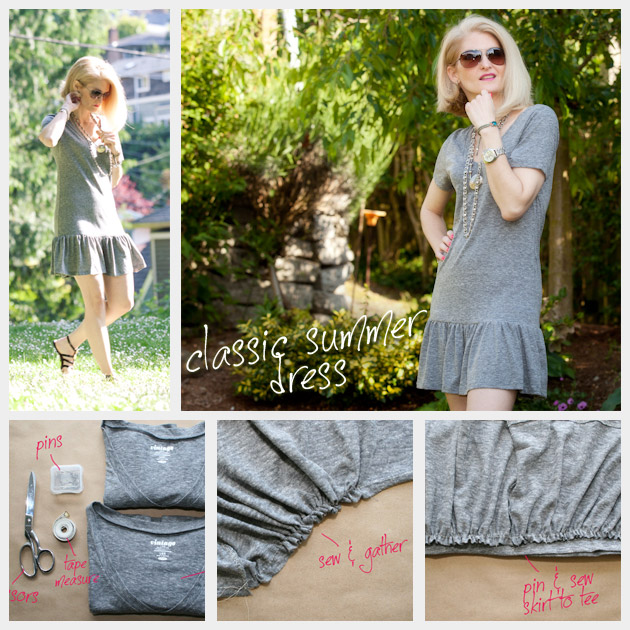 T Shirt Dress DIY