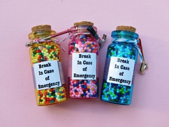 Emergency Candy Bottles