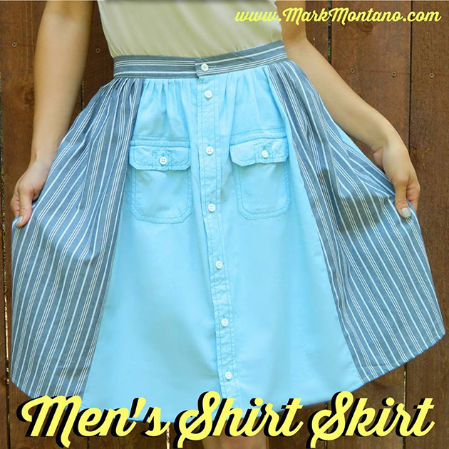 Men's Shirt Skirt