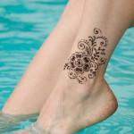 Henna Inspired Glitter Tattoos Body Art