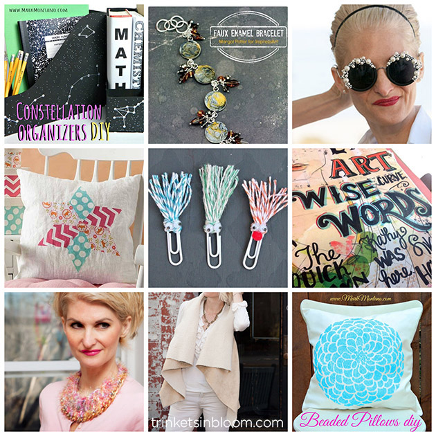 ThursDIY Back To School Round Up on Trinkets in Bloom