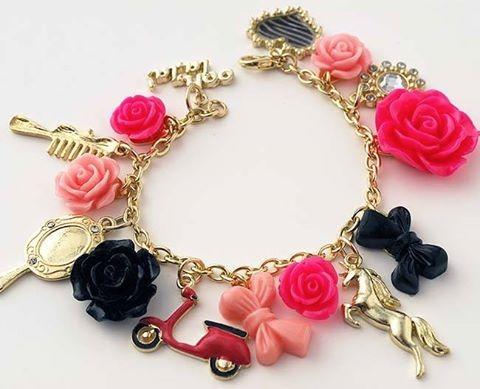 Mod Melts Charm Bracelet by Cathie Filian