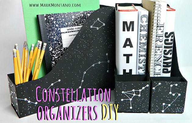 DIY Constellation Organizers by Mark Montano