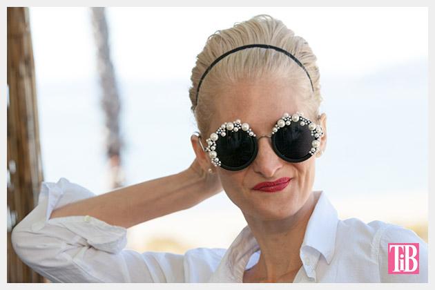 DIY Pearl Sunglasses Photo 2