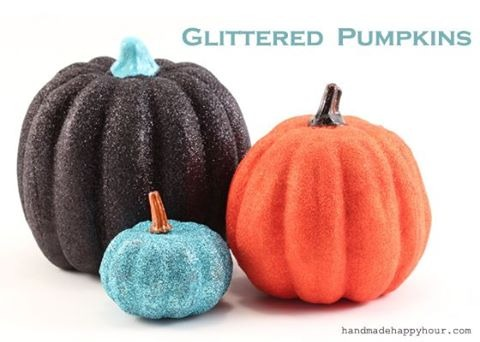 5 Groovy Mod Podge Pumpkins by Cathie Filian