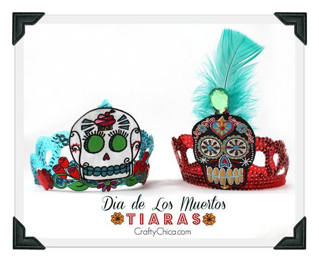 Dia de los Muertos Tiaras by Crafty Chica