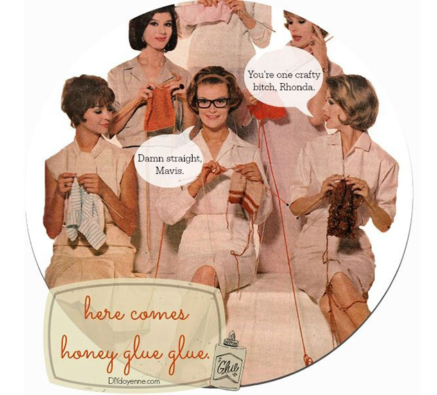 Here Comes Honey Glue Glue by Margot Potter
