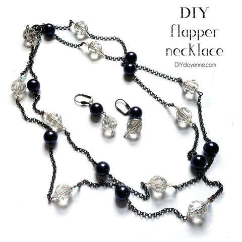 DIY Flapper Necklace by Margot Potter