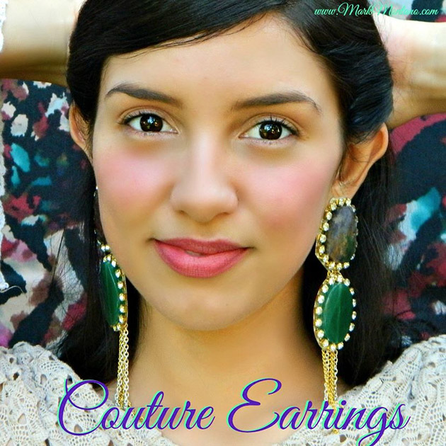 DIY Couture Earrings by Mark Montano