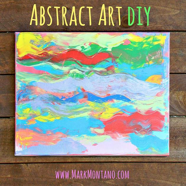 Abstract Art DIY by Mark Montano