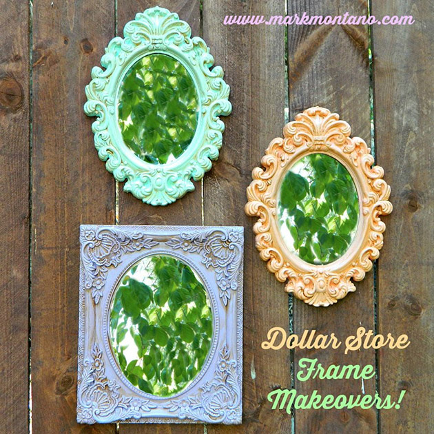 Dollar Store Frame Makeovers by Mark Montano