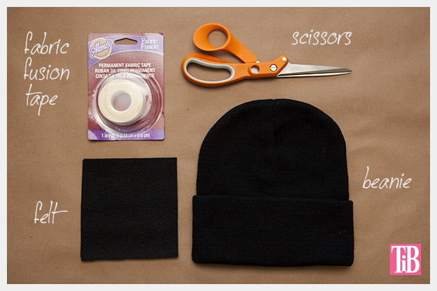DIY Cat Beanie Materials
