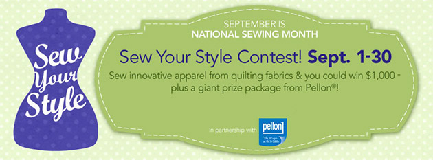 JoAnn Sew Your Style Contest