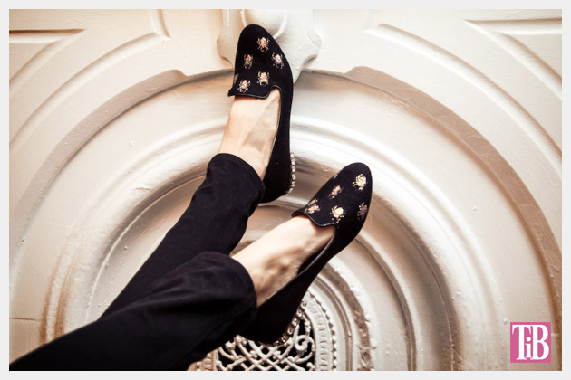 Spider Loafers DIY by Trinkets in Bloom #ThursDIY
