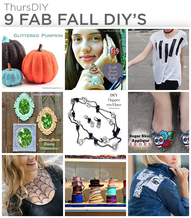 9 Fab Fall DIY's by Trinkets in Bloom