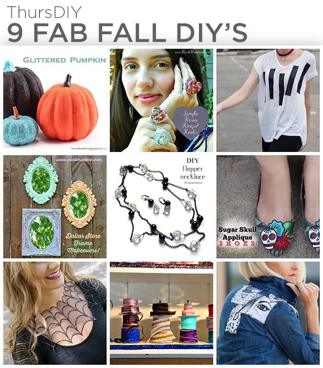 9 Fab Fall DIY's by Trinkets in Bloom