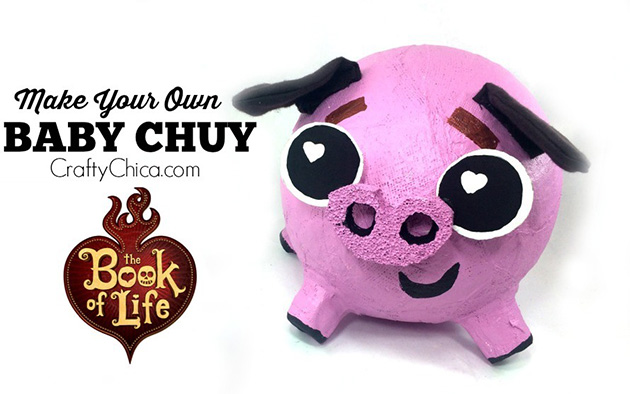 The Book of Life Baby Chuy DIY by Crafty Chica