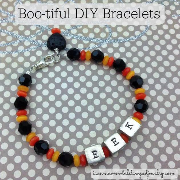 Boo-tiful DIY Bracelets by Margot Potter