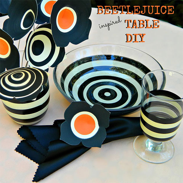Beetlejuice Table DIY by Mark Montano