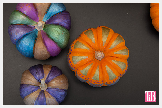 Painted Pumpkins using Bic Mark-it Markers top