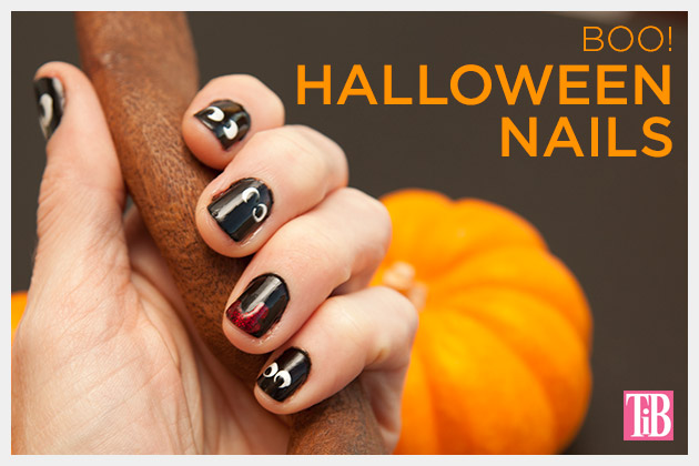 Halloween Nails DIY with Julep on Trinkets in Bloom