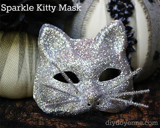 Sparkle Kitty Mask by Margot Potter