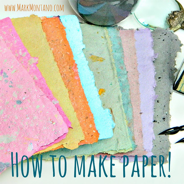 How to make paper by Mark Montano
