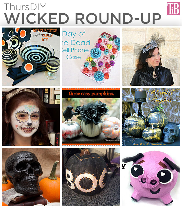 ThursDIY Wicked Round Up by Trinkets in Bloom