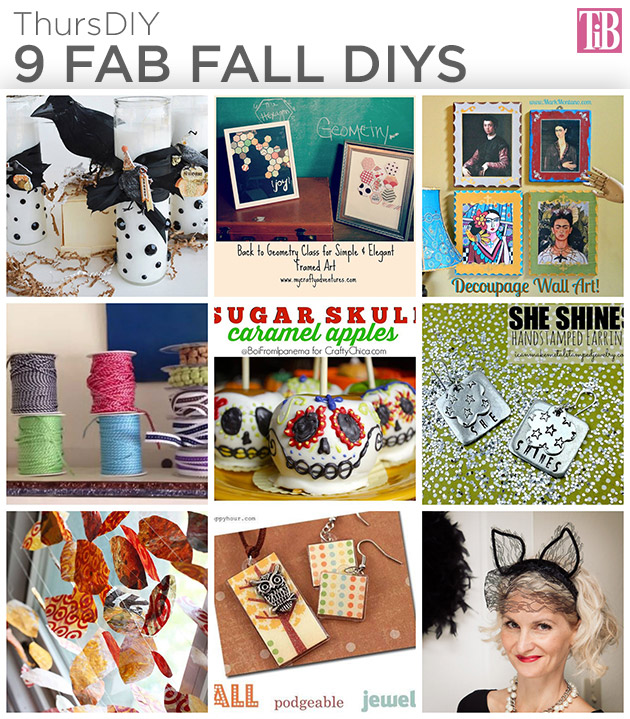 9 Fab Fall DIYS by Trinkets in Bloom