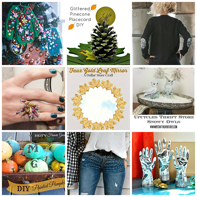 Holiday Sparkle 9 Holiday DIY's