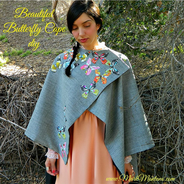 Beautiful Butterfly Cape DIY by Mark Montano