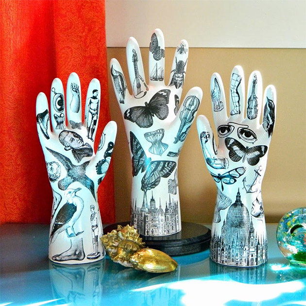 Tattooed Plaster Hands by Mark Montano