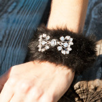 Furry Slap Bracelet DIY by Trinkets in Bloom