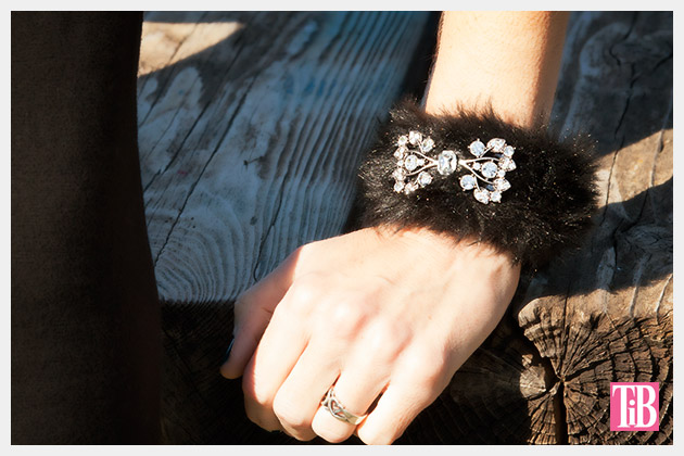 Furry Slap Bracelet DIY Tutorial by Trinkets in Bloom