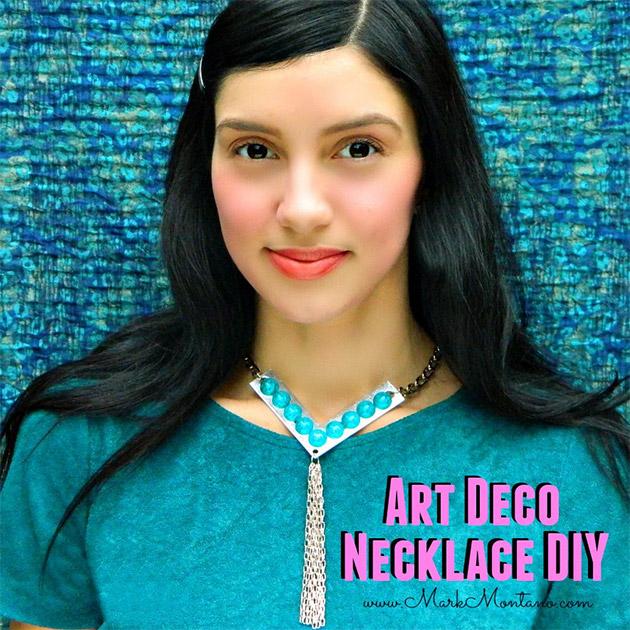 Art Deco Necklace DIY by Mark Montano