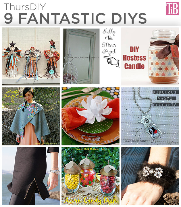 9 Fantastic DIYS by Trinkets in Bloom