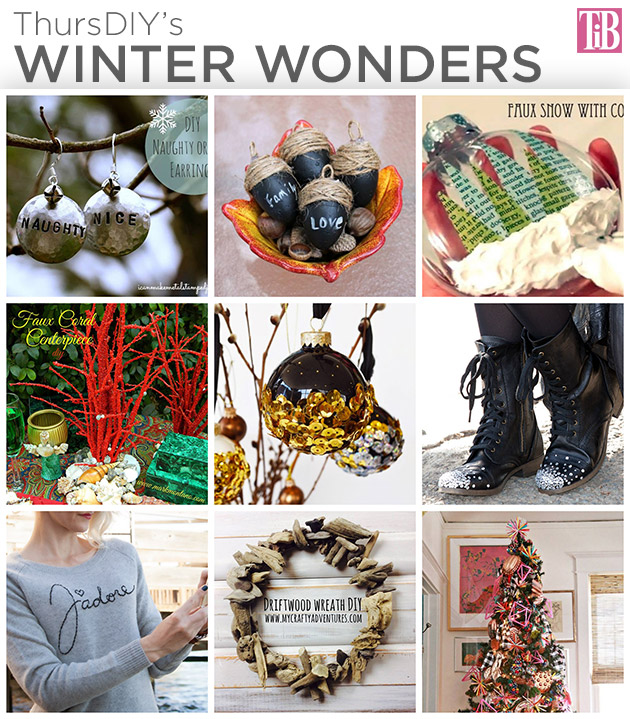 ThursDIY Winter Wonders DIY Roundup on Trinkets in Bloom